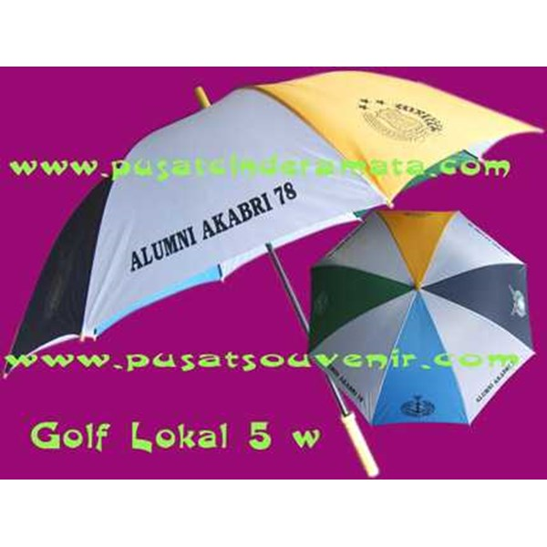 payung golf lokal