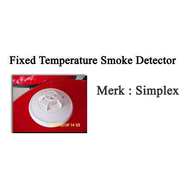 simplex fixed temperature detector konventional