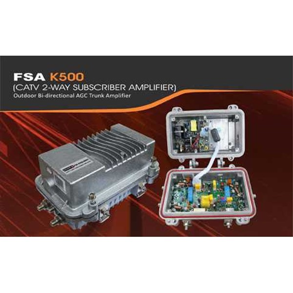 catv subscriber amplifier k-500 : falcom
