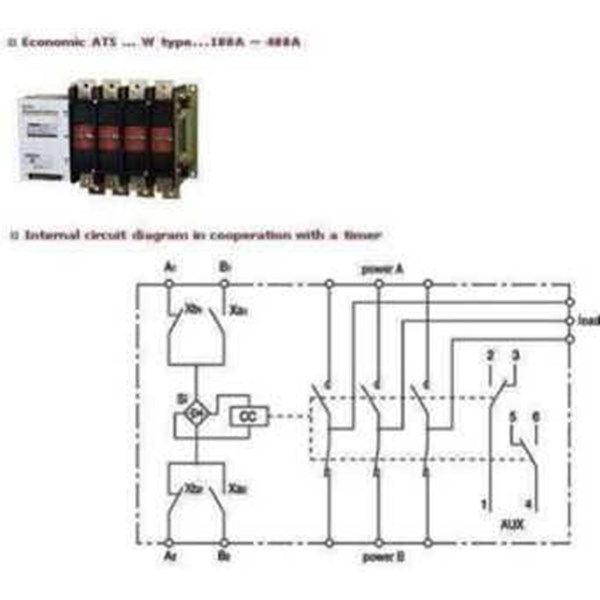 automatic transfer switch made in korea