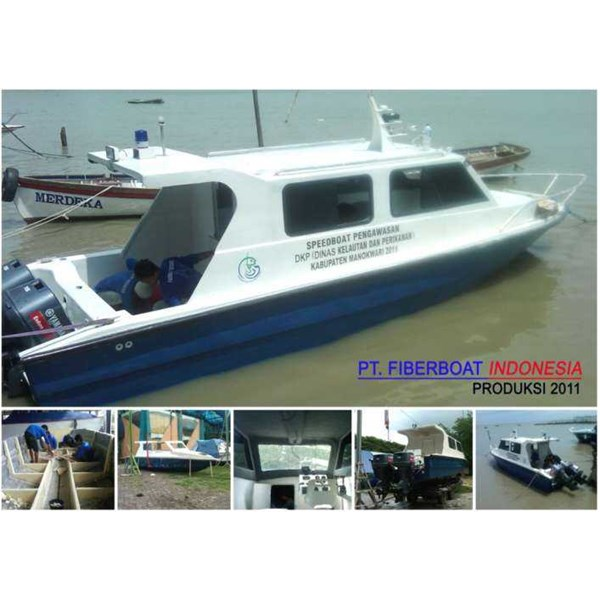 speed boat patroli seri fbi-0822-xc
