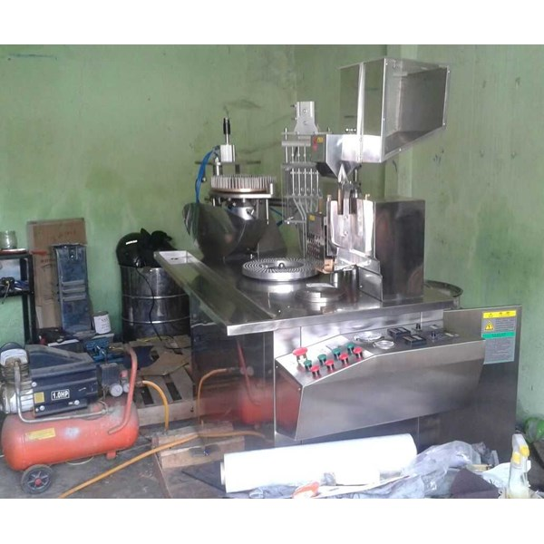 semi automatic hard capsule filler for liquid