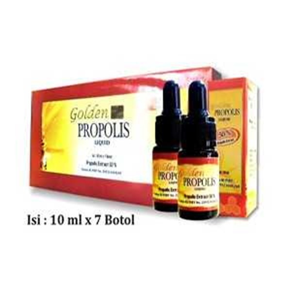 golden propolis brazil ekstrak 50% 10ml