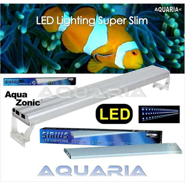 lampu led aquazonic sirius super slim series-1