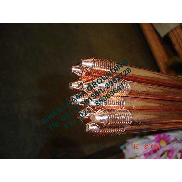 earthing rod | copper clad steel | copper bonded | elektrode-1