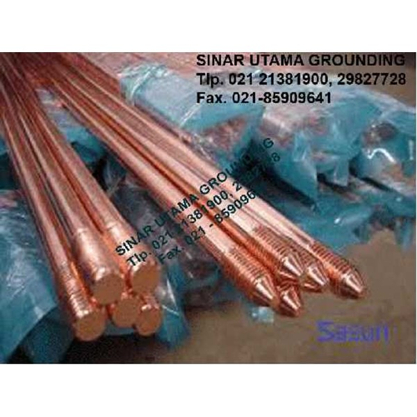 earthing rod | copper clad steel | copper bonded | elektrode-3