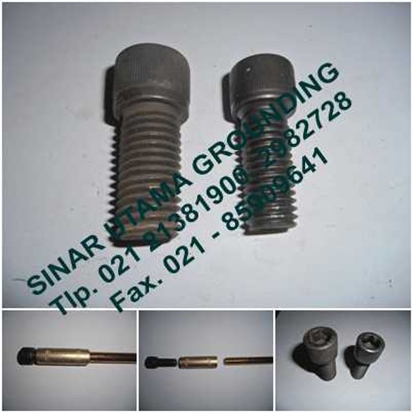 driving head | driving stud | drilling head | drilling head