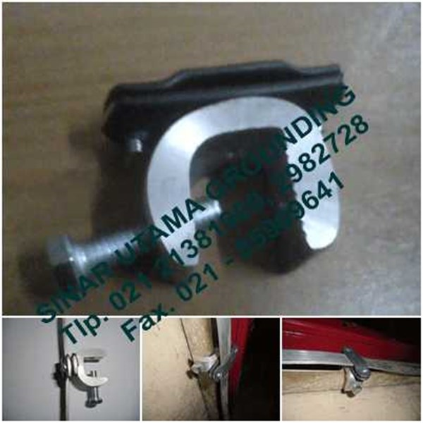aluminium tape clamp 3x25 | beam clamp-1