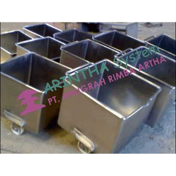 meat car, euro container stainless steel