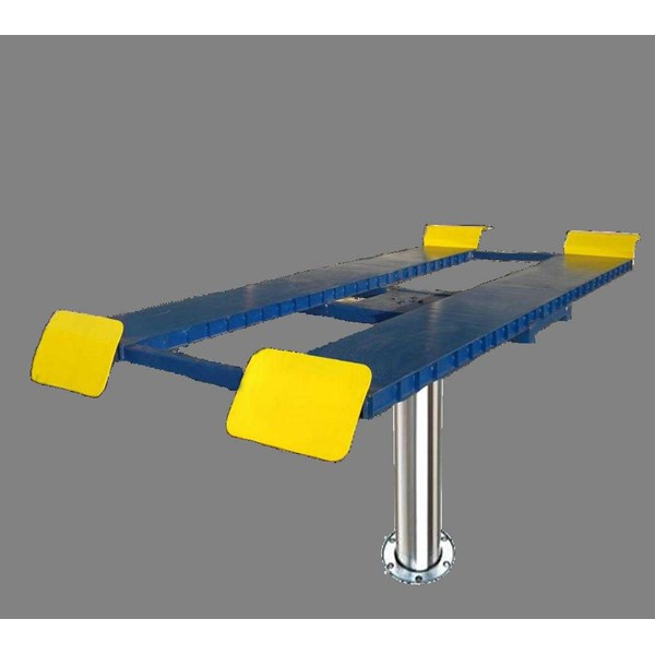 lift cuci mobil (single post lift jack rotary model h-beam)