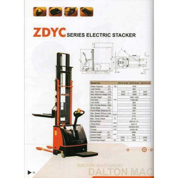 electric stacker dalton-2
