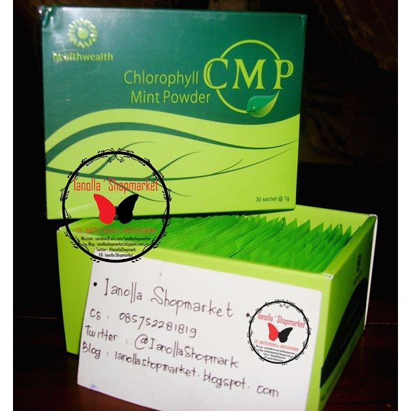 cmp ( chlorophyll mint powder) recommended tuk diet ! !