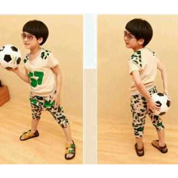 boy set leopard