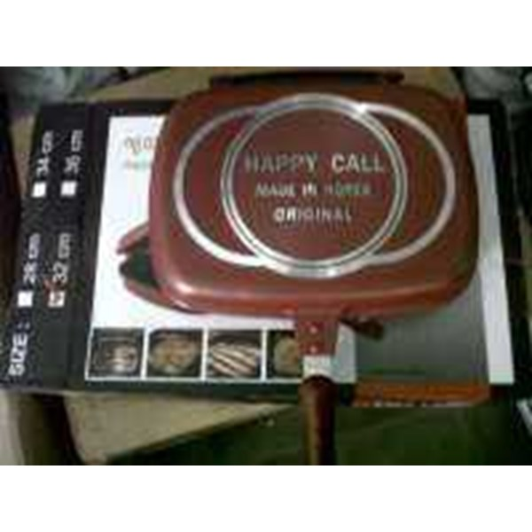 happy call jumbo grill pan murah 290rb