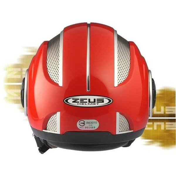zeus zs-218 helm momo open face+ metal ventilation