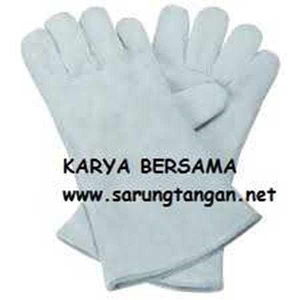 economic welding glove 16 inch