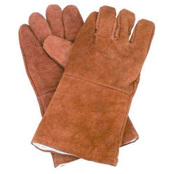 welding gloves 14 inch brown-1