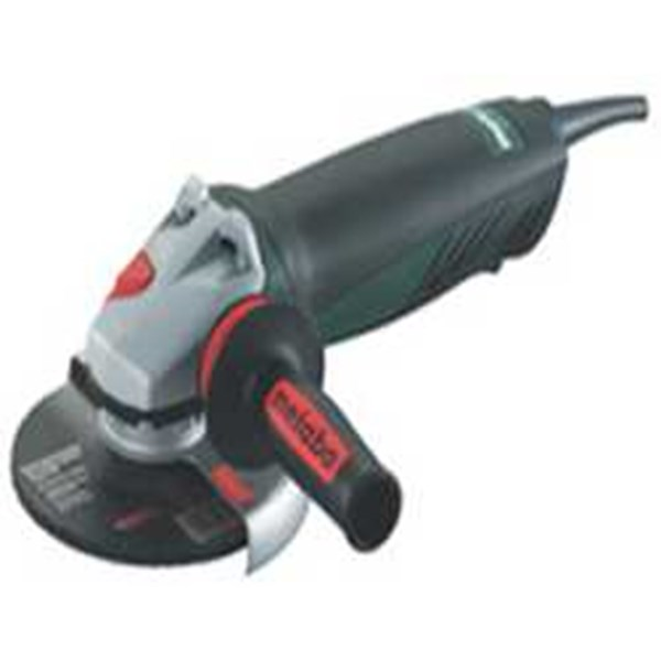 metabo  1450 watt electronic angle grinder wepa 14-125 quickprotect with protect safety switch