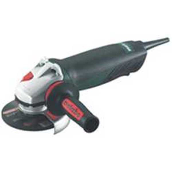 metabo 1450 watt electronic angle grinder wep 14-125 quickprotect with protect safety switch