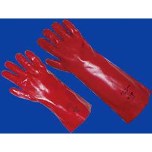 cig hand protection chemical protective - pvc gauntlet