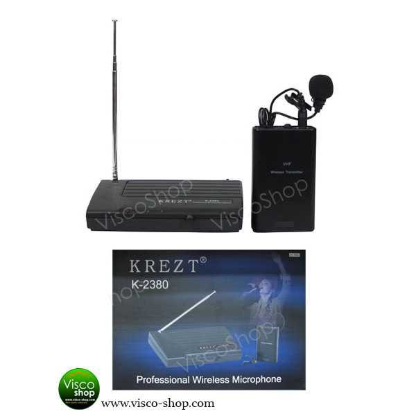 krezt 2380 l - single wireless microphone clip-on-1