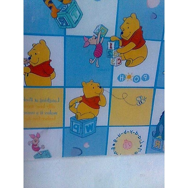 wallpaper dinding motif anak winnithe pooh