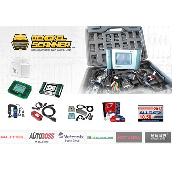 automotive diagnostic tools ( scanner mobil, motor dan heavy duty)