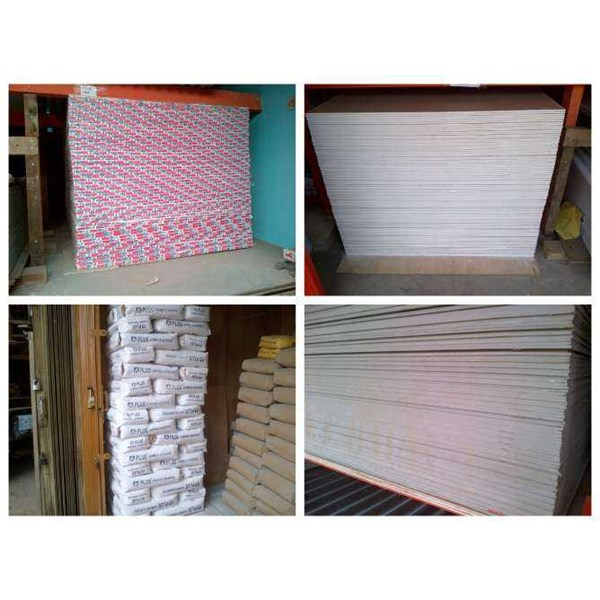 gypsum, grc board, kalsi board, asbes djabesment