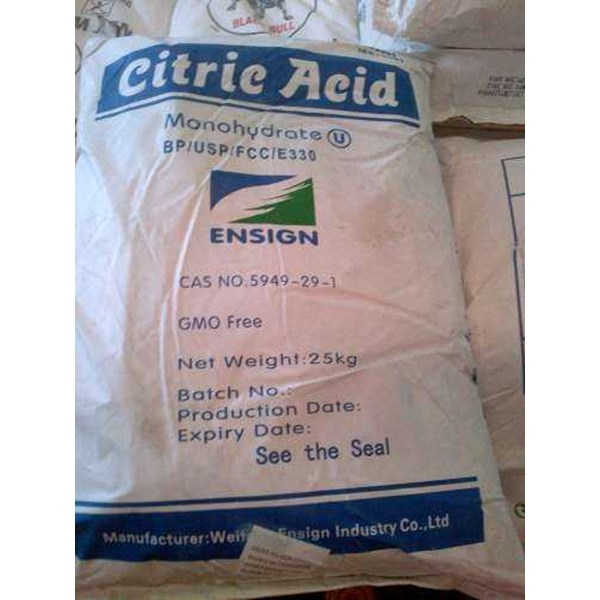 citric acid monohydrous/ anhydrous