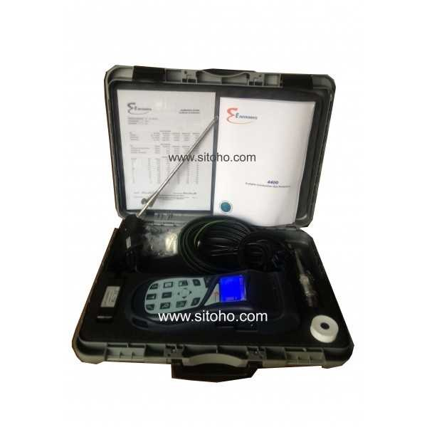 sensonic industrial portable combustion gas & emissions analyzer