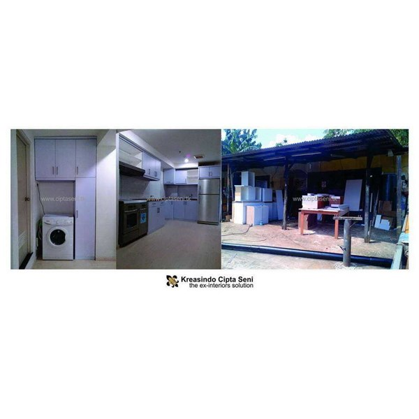 kitchen set | apt. kebagusan city