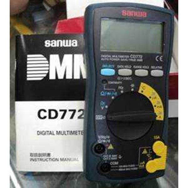 digital multimeter sanwa cd772
