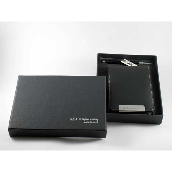gift set / cover memo + pulpen