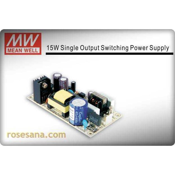 power supply meanwell ps-15-12 12v/ 1, 25amp