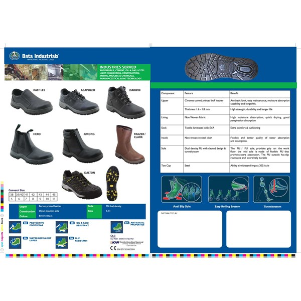 safety shoes bata industrials