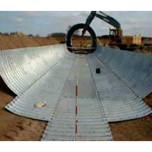 corrugated steel pipe multi plate underpass-2