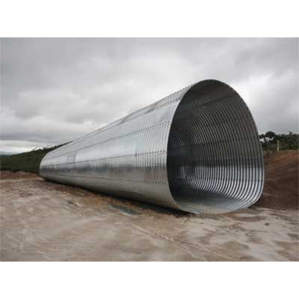 corrugated steel pipe multi plate underpass-4