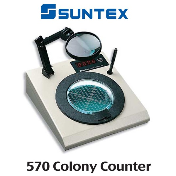 Jual Bacteria Colony Counter Model 570 SUNTEX Oleh