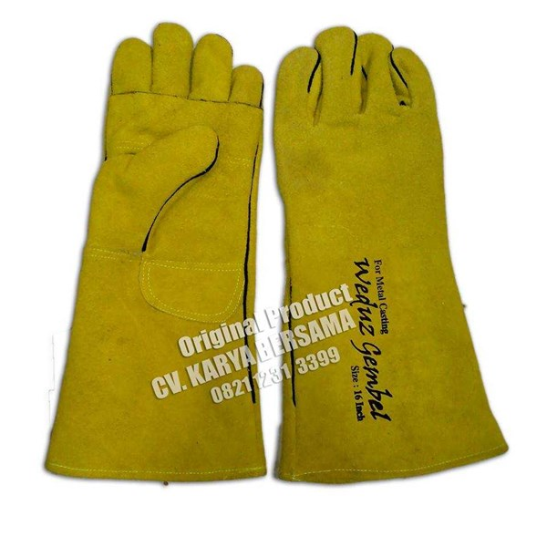 welding gloves weduz gembel for metal casting-1