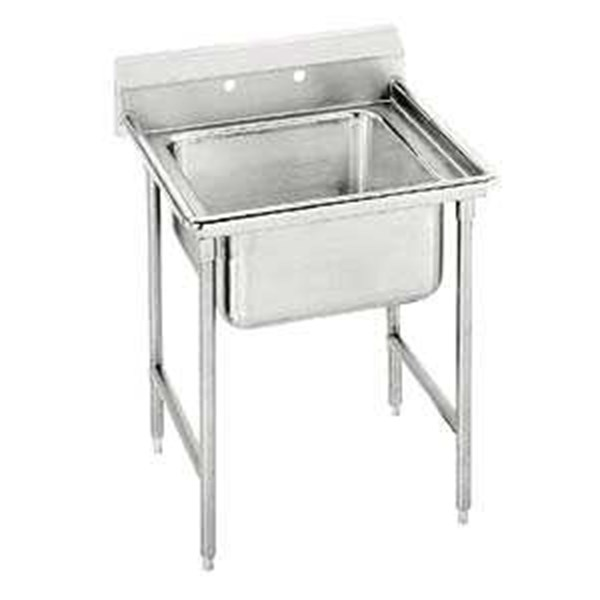 single bowl sink stainless steel