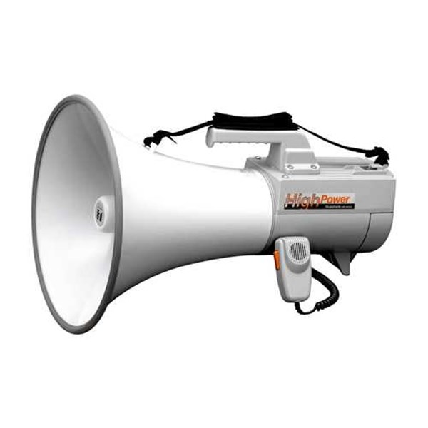 p1. megaphone toa zr-er-2930w shoulder with whistle