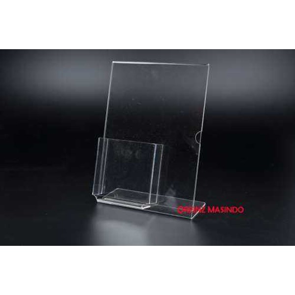 acrilic display, standing notepad, rack acrillic, box acrillic, standing brocure-5