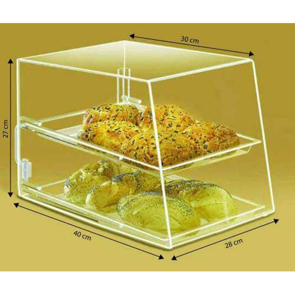 acrilic display, standing notepad, rack acrillic, box acrillic, standing brocure-4