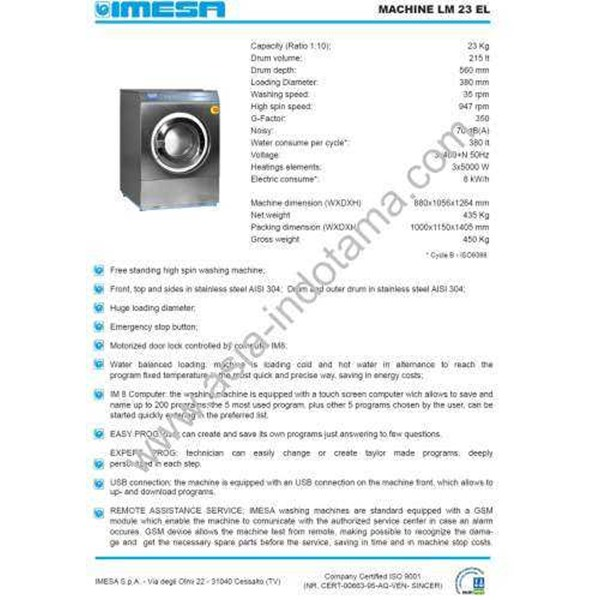 washer extractor - soft mounted