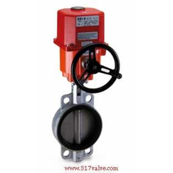 electric motorized/ actuator butterfly valve-1