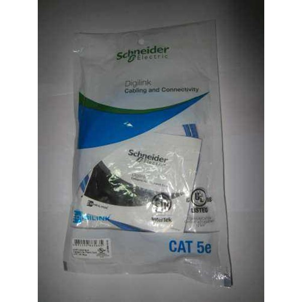 patch cord schneider cat 5, 1m biru