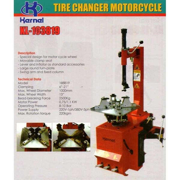 tire changer for motorcycle kernel 103819 (alat buka ban motor)