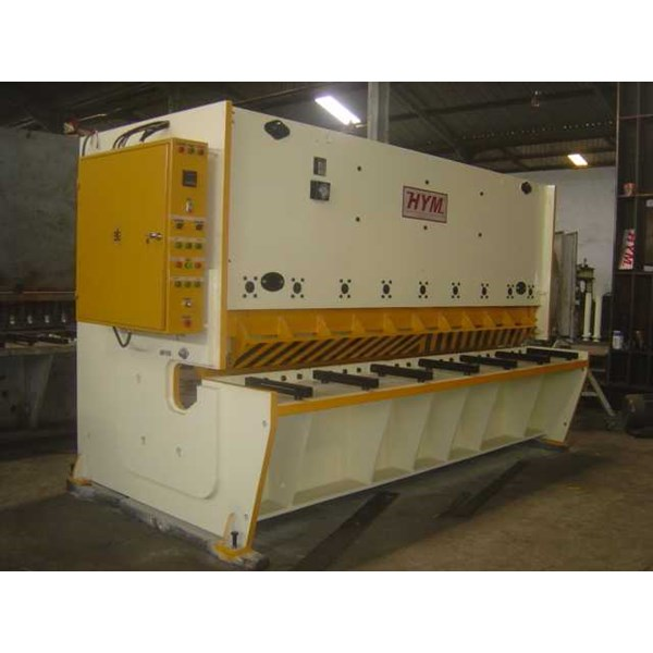 hydraulic guillotine machine, 13 x 3000mm.