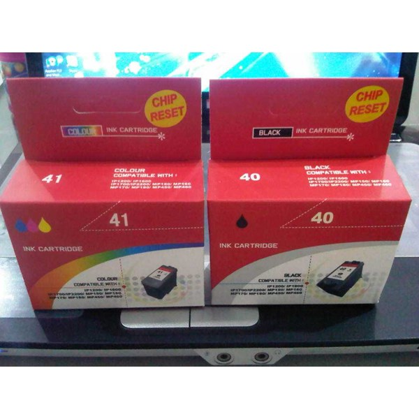 compatible inkjet cartridge canon with reset chip