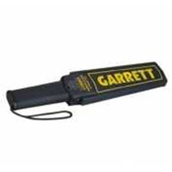 hand metal detector garret super scanner